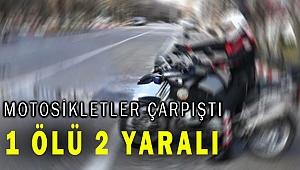 Selçuk'ta motosiklet kazası 1 ölü, 2 polis yaralı