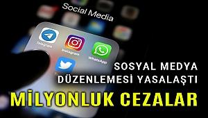 Sosyal medya düzenlemesi yasalaştı, çok ağır cezalar getirildi