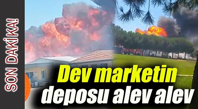 Torbalı'da yangın fabrikaları tehdit etmeye başladı, işçiler tahliye edildi
