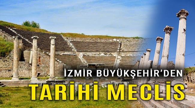 2 bin 400 yıllık mekânda meclis toplantısı