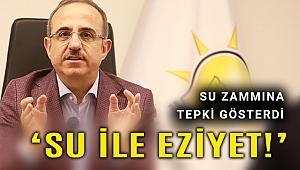 AK Partili Kerem Ali Sürekli: İzmir'e su sınavıyla eziyet!