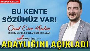 ARSLAN'DAN MANİFESTOLU ADAYLIK AÇIKLAMASI