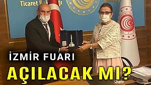 Başkan Soyer, Ticaret Bakanı Ruhsar Pekcan ile görüştü, İEF'in kaderi belli oldu