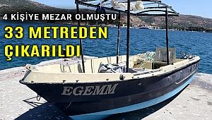 Batan tekne çıkarıldı Sarp'tan hala haber yok!