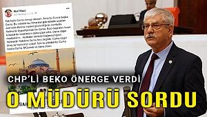 Beko: Bu kişi memur mu yoksa siyasi iktidarın temsilcisi mi?