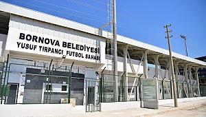 Bornova Belediyesi Yusuf Tırpancı Sahasını yeniledi