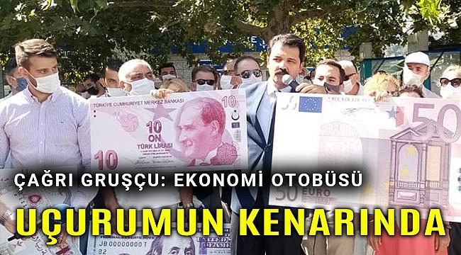 CHP Konak'tan 'kur' protestosu