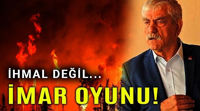 CHP'li Beko, Çeşme yangınıyla ilgili çarpıcı iddiada bulundu