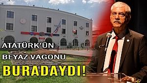 CHP'li Beko'dan ilginç iddia: Beyaz vagon neden yerinden kaldırıldı?