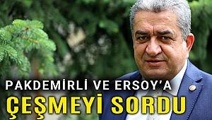 CHP'li Serter'den iki bakana Çeşme soruları