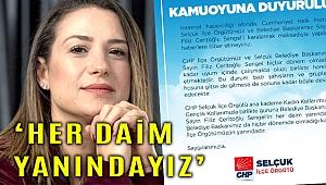 CHP Selçuk İlçe Başkanlığından o iddialara yalanlama