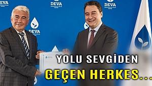 DEVA Partisi İzmir İl Başkanı Sarızeybek: Demokrat ve yolu sevgiden geçen herkese açığız