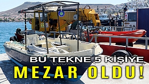 Foça'da tekne faciası... Sarp'ın cesedi 23 gün sonra bulundu!