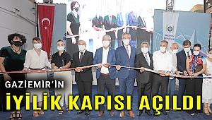 Gaziemir'in iyilik kapısı 'Sosyal Market' açıldı