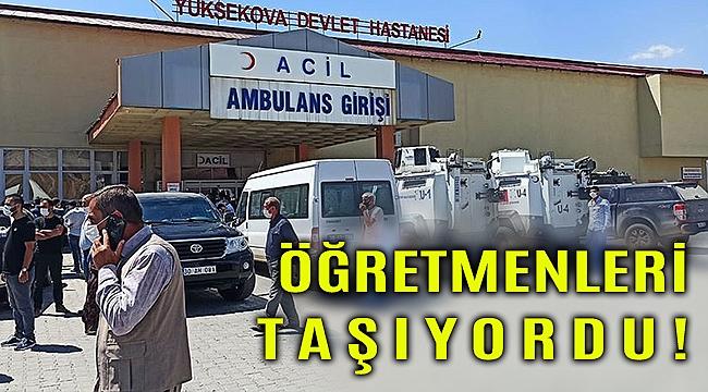 Hakkari Yüksekova'da araç uçuruma yuvarlandı: 6 kişi hayatını kaybetti