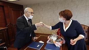 İlkay Başkan'dan Vali Köşger'e ziyaret