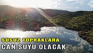 İzmir Büyükşehir 3 ilçede sulama göletleri kuruyor