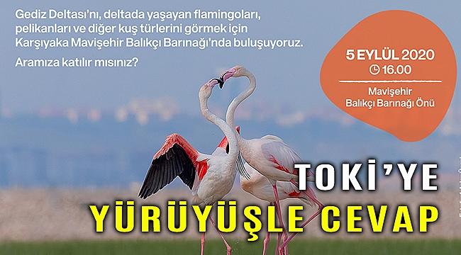 İzmir Büyükşehir doğaseverleri Gediz Deltasına bekliyor