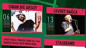 İzmir 'Çim Konserleri' başlıyor; işte konser tarihleri!