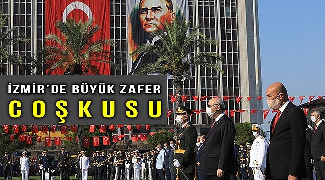 İzmir'de 30 Ağustos Zafer Bayramı kutlaması