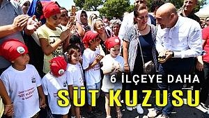 İzmir'de 6 ilçeye daha 'Süt Kuzusu' geliyor