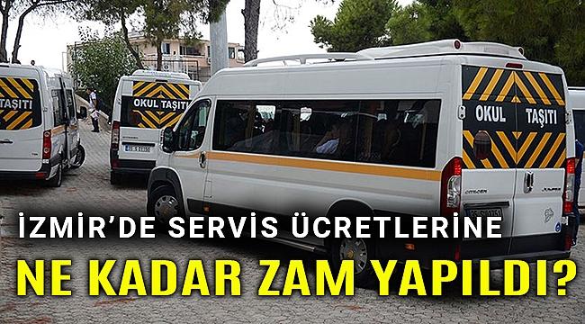 İzmir'de okul servis ücretleri belli oldu