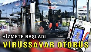 İzmir'e 'Virüssavar' otobüs