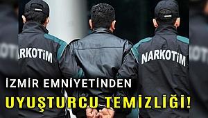 İzmir'de çok sayıda yere baskın düzenlendi