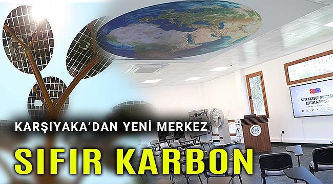 Karşıyaka'da 'Sıfır Karbon Noktası Eğitim Merkezi' hizmete açıldı