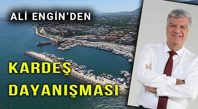 Narlıdere Belediyesi, Kesmetepe'ye çöp kamyonu gönderdi
