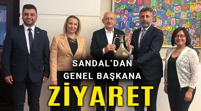 Sandal, Genel Başkan Kılıçdaroğlu'nu ziyaret etti