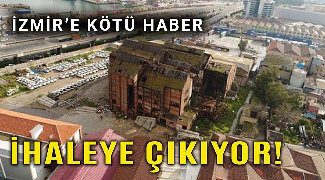 Tarihi Elektrik Fabrikası yeniden satışa çıkarıldı