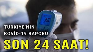 Türkiye'de Kovid-19 ile mücadelede son 24 saatte yaşananlar
