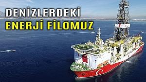 Türkiye'nin denizlerdeki enerji filosu kaç gemiden oluşuyor?