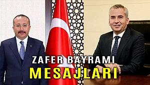 Vali Atik ve Başkan Zolan'dan, 30 Ağustos Zafer Bayramı mesajları
