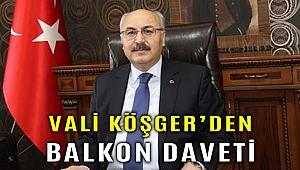 Vali Köşger'den İzmirliler'e 30 Ağustos daveti