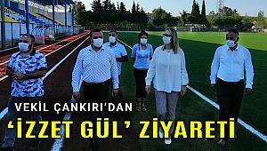 Vekil Çankırı; İzzet Gül Stadında çalışmalar hızlandırılacak