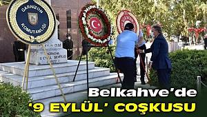 '9 Eylül' coşkusu Belkahve'de yaşandı!