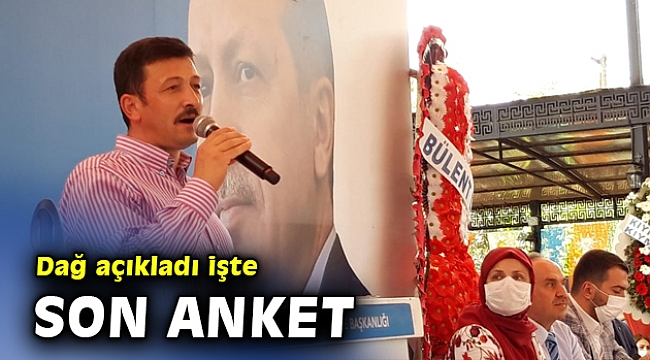 AK Partili Dağ, en güncel anketi açıkladı