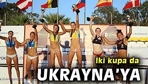 Avrupa U-18 Plaj Voleybolunda kadın ve erkeklerde zafer Ukrayna'nın