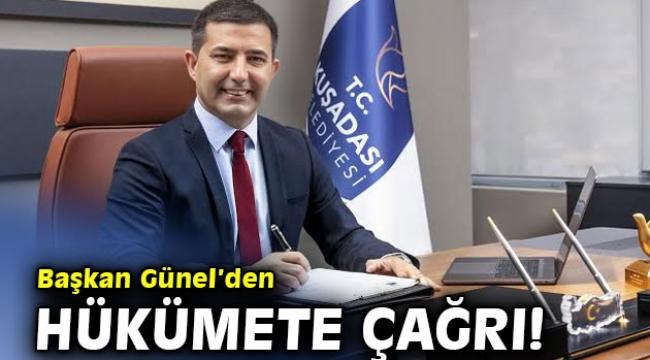 Başkan Günel'den Hükümete Çağrı!