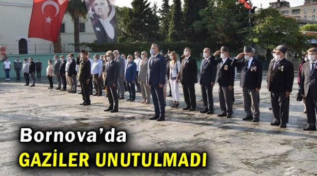 Bornova Belediyesi  gazileri unutmadı!
