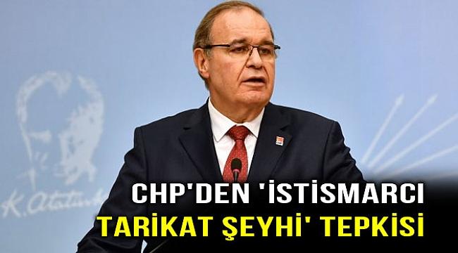 CHP'den istismarcılara sert tepki!