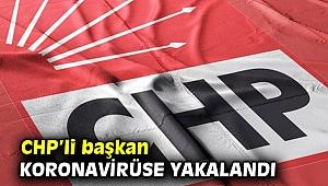 CHP'li belediye başkanının testi pozitif