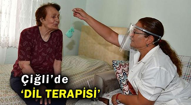 """Çiğli Belediyesi """"Evde Dil Terapisi"""" Hizmeti veriyor"""