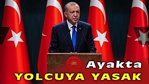 Cumhurbaşkanı Erdoğan, 'Toplu taşımada ayakta yolcu alınmayacak'
