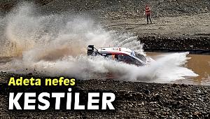 Dünya Ralli Şampiyonası'nın 5. yarışı Türkiye Rallisinden nefes kesen kareler