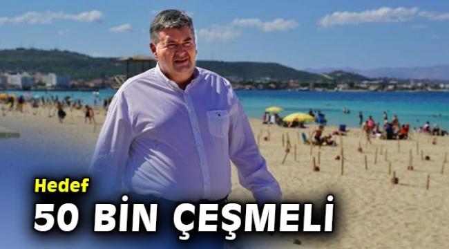 "İkametini Al Çeşme'ye gel: ""Hedef 50 bin Çeşmeli"""