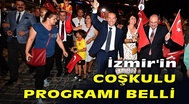 İzmir, 9 Eylül'ü coşku dolu bir programla kutlayacak!