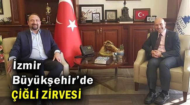 İzmir Büyükşehir'de Çiğli Zirvesi Yapıldı!
